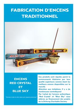 Fabrication d'encens traditionnel